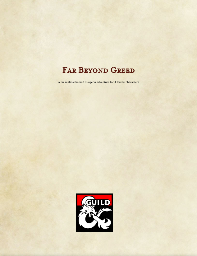 Cover of Far Beyond Greed