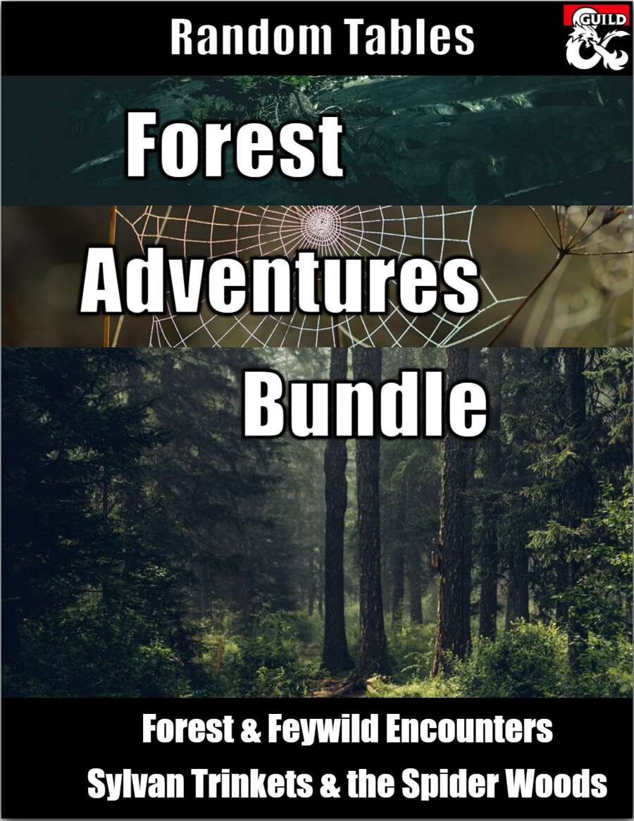 Forest Adventures Random Tables Bundle