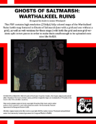 Ghosts of Saltmarsh: Warthalkeel Ruins Color Maps