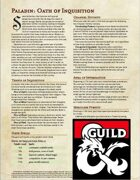 Paladin: Oath of Inquisition