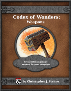 Codex of Magical Wonders: Weapons