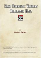 Parasitic Race Variant-Hezrazoid Host