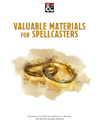 Valuable Materials for Spellcasters