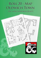 Oldwich Town - Roll 20 Map