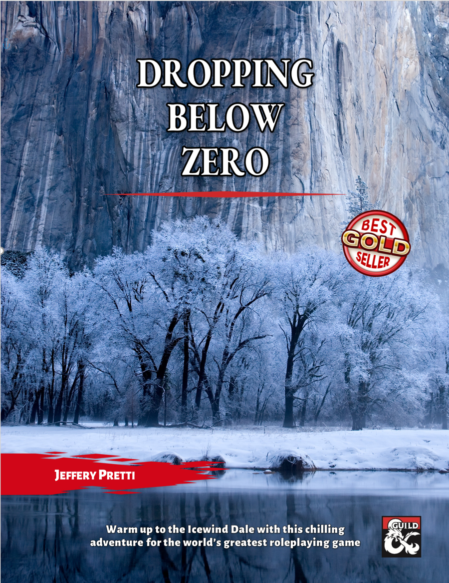 Dropping Below Zero: A Chilling Adventure on the Road to Icewind Dale