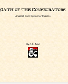 Oath of the Consecrator