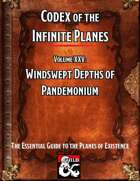 Codex of the Infinite Planes Vol 25 Pandemonium