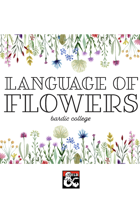 Language of Flowers Bard Subclass