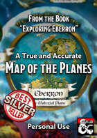 Exploring Eberron - Map of the Planes