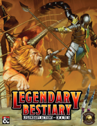 Legendary Bestiary II: Legendary Actions for CR 4 to 6 (Fantasy Grounds)