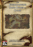 The Everchanging Sand Dunes of Calim