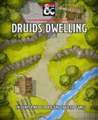 Druids Dwelling battlemap