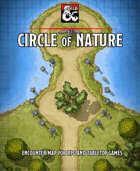 Circle of Nature battlemap