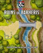 Ruins of Barheris battlemap