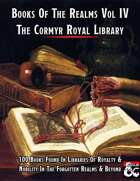 Books Of The Realms Volume IV Cormyr Royal Library
