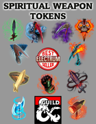 Spiritual Weapon Tokens