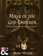 Mask of the God-Emperor