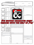 tg's 5th Edition Character Sheet
