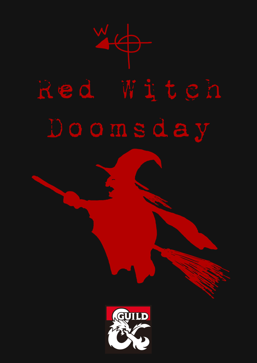 Cover of Red Witch Doomsday