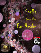Spells from the Far Realm (Fantasy Grounds)