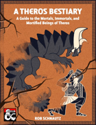 A Theros Bestiary: A Guide to the Mortals, Immortals, and Mortified Beings of Theros