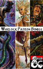 Warlock Patron Bundle: 24 Patrons