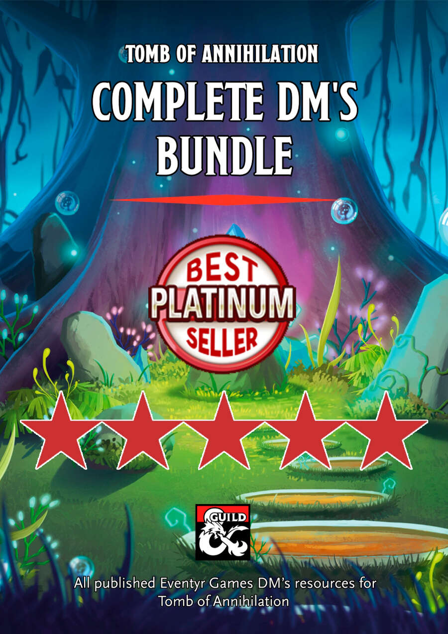 Tomb of Annihilation Complete DM's Bundle