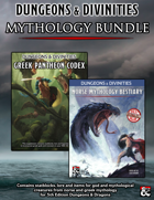 """Dungeons & Divinities, Norse & Greek Mythologies"" [BUNDLE]"