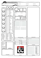 Super Optimised Vanilla-feel Character Sheet - A4 and USA letter formats, and 100% form-fillable