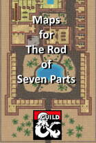 The Rod of Seven Parts - Maps