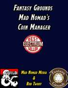 Fantasy Grounds Mad Nomad's Coin Manager