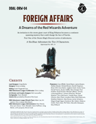DDAL-DRW-04 Foreign Affairs