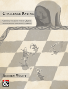 Challenge Rating: Getting the Most out of CR for Improvisation and Monster Design