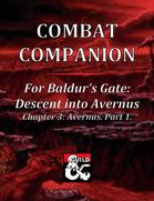 Combat Companion for Baldur's Gate: Descent into Avernus. Chapter 3. Part 1.