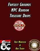 Fantasy Grounds NPC Random Treasure Drops