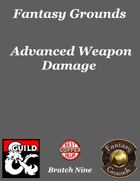 Fantasy Grounds 'Advanced Weapon Damage' extension