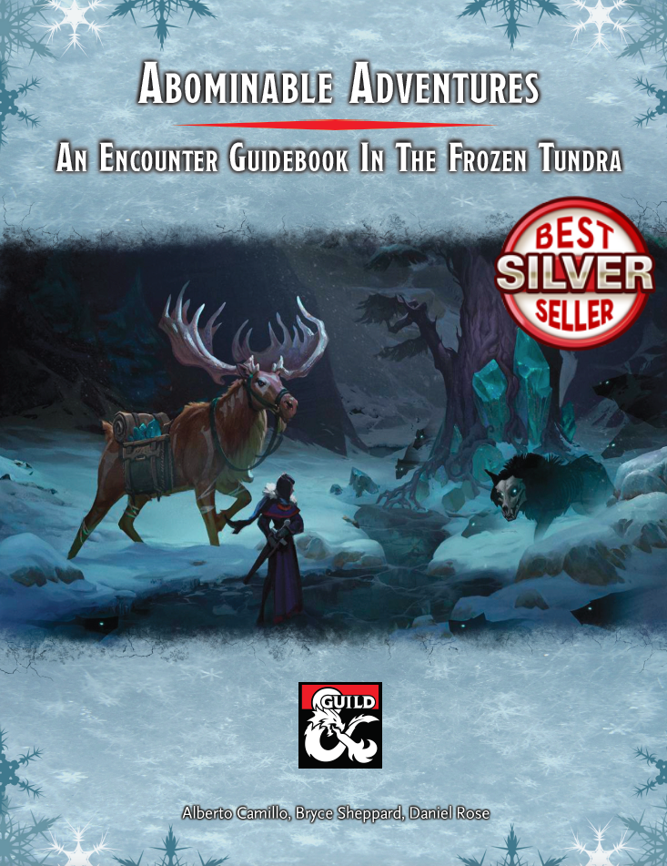 Cover of Abominable Adventures - An Encounter Guidebook In The Frozen Tundra