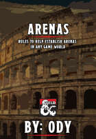 Arenas - Rules supplement for arenas and tournaments