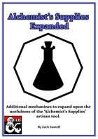 Alchemist's Supplies Expanded