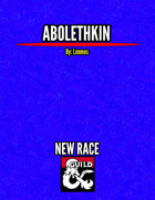 Abolethkin - Player Race