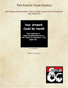 The Sleuth Class (Alpha) Fantasy Grounds Module