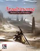 Arashinome - Buried City of Wonders