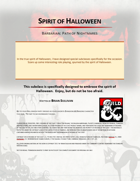 Spirit of Halloween, Barbarian: Path of Nightmares