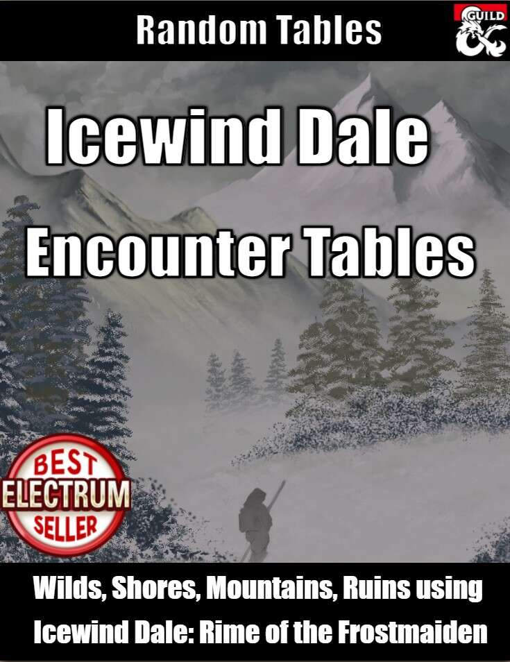 Icewind Dale Encounter Tables