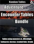 Adventure Encounter Tables Bundle - Random Tables [BUNDLE]