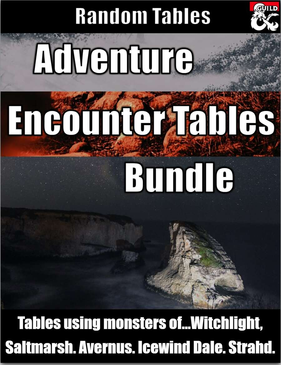 Adventure Encounter Tables Bundle