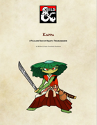 Kappa, A Folklore Race of Aquatic Troublemakers
