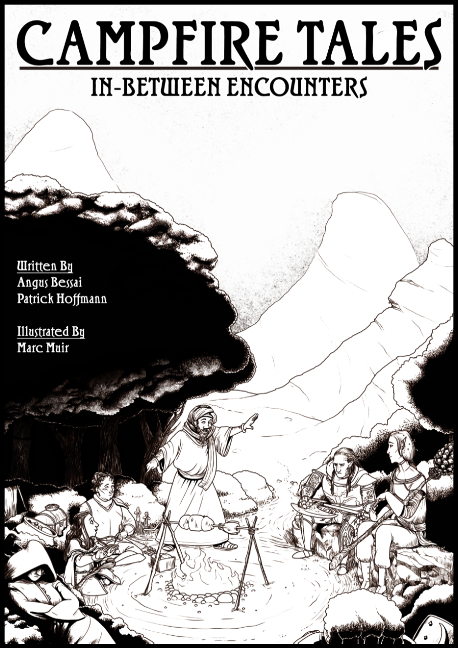 Cover of Campfire Tales: In-Between Encounters