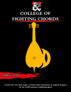 The College of Fighting Chords for Bards [D&D 5e (2020)]