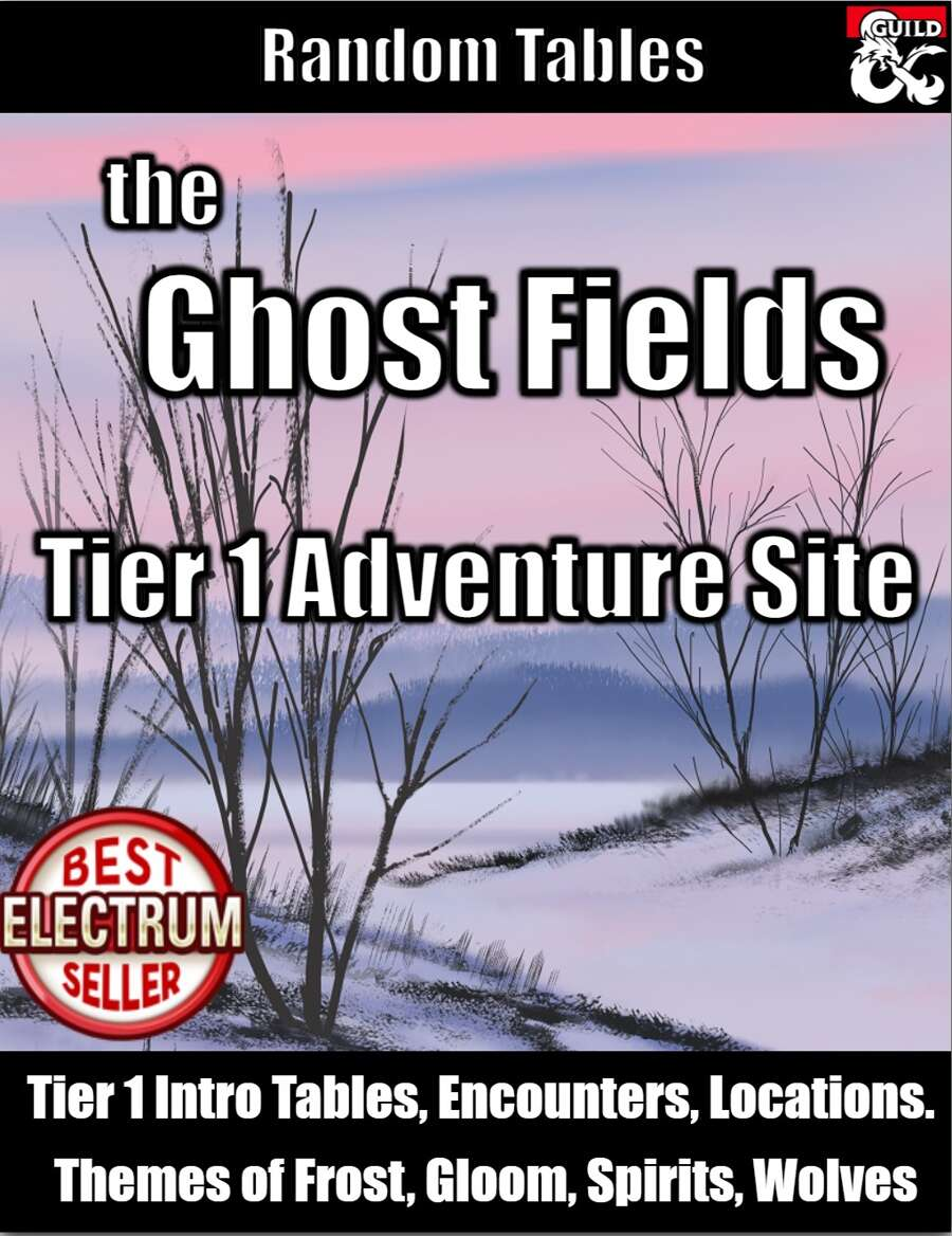 Ghost Fields adventure site
